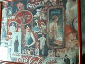 vintage coca cola puzzle frame